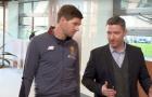 Gerrard đảm nhận vai trò dẫn tour tham quan Melwood