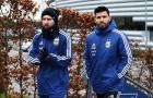 Messi và Aguero như hình với bóng khi lên tuyển