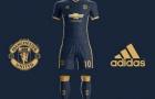 Lộ áo đấu mới cực chất của Man Utd