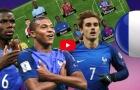 Dự đoán đội hình đội tuyển Pháp tại World Cup 2018