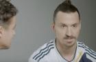 Ibrahimovic lần đầu xuất hiện trong màu áo LA Galaxy