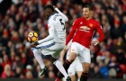 29 bàn thắng và 9 kiến tạo của Zlatan Ibrahimovic ở Man Utd
