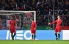 Thua sốc trước Hà Lan, Ronaldo trút giận lên đồng đội