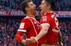 Lewandowski, Müller và Robben, những mũi tấn công đáng sợ của Bayern