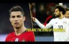So sánh màn đọ tài giữa Cristiano Ronaldo vs Mohamed Salah