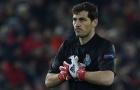 Iker Casillas cán mốc 1000 trận trong ngày buồn