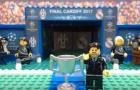 Trận chung kết Champions League mùa trước theo phong cách Lego