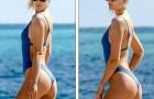 Toni Garrn - Tình cũ Leonardo DiCaprio sexy ở bãi biển