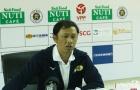 HLV Dương Minh Ninh: Tôi không bàn về trọng tài, CĐV phản ứng là bình thường