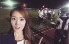 Lee Ji Yeon - Nữ MC từng gây sốt làng bóng đá