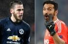 Buffon bị thẻ đỏ đầu tiên ở Champions League vì... 'xem thường' De Gea
