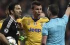 Costa đánh lén trọng tài, Buffon phải nhận thẻ đỏ oan?