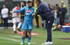 Thầy trò Sarri 'tranh cãi' trong ngày Napoli chia điểm với Milan