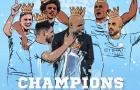 Lịch sử sang trang và màu xanh thống trị Premier League