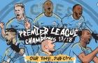 Man City vô địch nhưng chưa là gì so với MU, Arsenal trước đây?