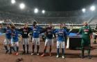 Dàn sao Napoli hò hát tưng bừng trước cú trượt chân của Juventus