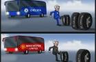 Hí họa Mourinho đi theo 'vết xe đổ' ở Chelsea