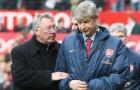 Vì Wenger, Ferguson từng 'tuyên chiến' với CĐV MU