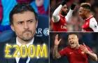 Chưa tới Arsenal, Luis Enrique đã đòi 200 triệu bảng để mua sắm