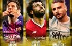 Cuộc đua Chiếc giày vàng châu Âu: Ai cản được Messi?