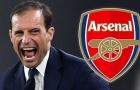 Arsenal săn HLV: Allegri vượt Enrique?