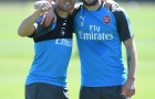 CĐV Arsenal chú ý: Santi Cazorla lần đầu tiên trở lại tập luyện