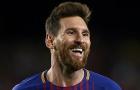 Messi cảnh cáo Real bằng pha 'ngả bàn đèn' trên sân tập