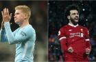 Salah, Bruyne và những 'ông vua' tại Premier League mùa này
