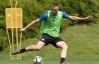 Inter căng mình tập luyện cho cánh cửa 'sinh' duy nhất
