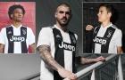 Juventus tung áo đấu mới cực chất
