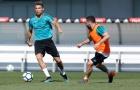 Ronaldo quẩy sung trên sân tập, quyết gieo sầu cho Liverpool