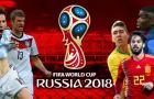 Top 5 đội tuyển đắt giá nhất World Cup 2018: Vượt mốc 4 tỉ bảng