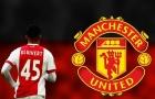 NÓNG: Chỉ trích Ajax, 'Kluivert con' bật đèn xanh cho Man United