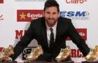 Messi chính thức giành danh hiệu Chiếc Giày Vàng châu Âu