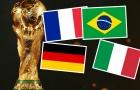 Đội bóng mạnh nhất World Cup mọi thời đại: Bất ngờ cái tên lạ lẫm.