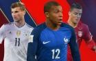 Top 10 cầu thủ hứa hẹn đột phá tại World Cup