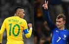 Brazil - Pháp: Cuộc đối đầu đáng chờ đợi tại World Cup 2018