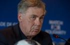 Ngày đầu nhậm chức, Ancelotti tuyên bố đưa Napoli lên đẳng cấp khác ở Serie A