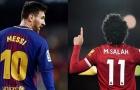 Ronaldo: 'Salah giống Messi'