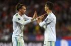 SỐC: Ronaldo chế nhạo Gareth Bale sau khi Real Madrid đánh bại Liverpool