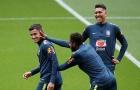 Trở lại Anfield, Coutinho quẩy sung trên sân tập