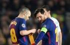 Messi đã chọn được người kế nhiệm Iniesta
