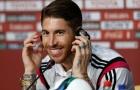 Ramos phản ứng thế nào với câu hỏi về Salah?