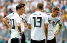 'Cầu thủ Đức sụp đổ sau cú sốc trước Mexico'