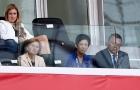 Công chúa Takamado rạng rỡ tiếp sức trong ngày Nhật chia điểm với Senegal