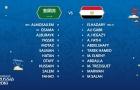 TRỰC TIẾP Saudi Arabia vs Ai Cập: World Cup xác lập kỷ lục mói (Đội hình ra sân)