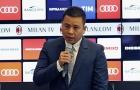 CHÍNH THỨC: Tỷ phú Trung Quốc ngưng rao bán AC Milan