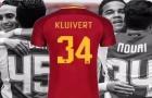 Con trai huyền thoại Kluivert chọn số áo đầy ý nghĩa tại Roma