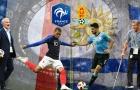 DỰ ĐOÁN và tỉ lệ cược: Pháp – Uruguay