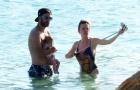 Gác lại nỗi sầu World Cup, Higuain chiều vợ hết cỡ ở biển Mallorca